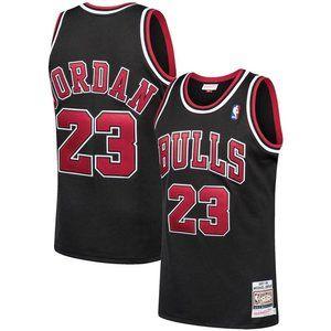 Chicago Bulls Michael Jordan 97-98 Black Jersey